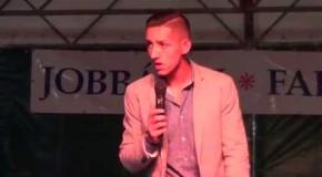 Berki Martin fellépése Jobbágyi falunap 2015 video 1